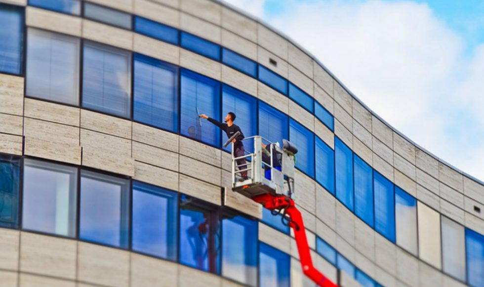 office facade cleaning